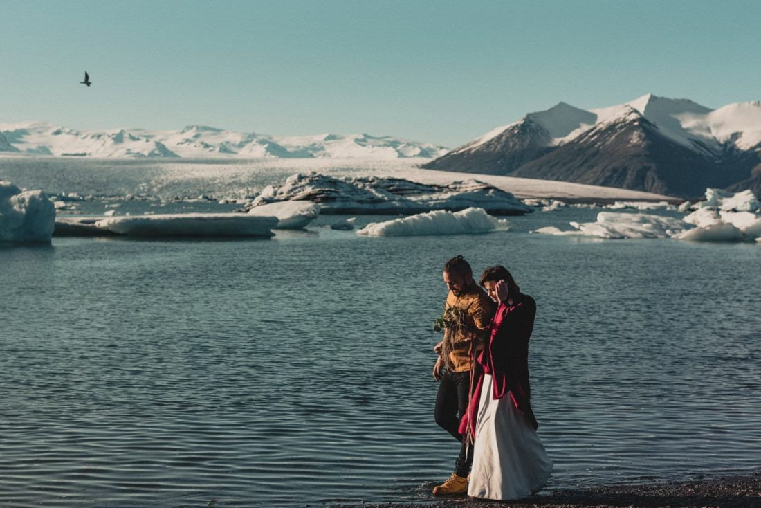laguna lodowcowa Islandia