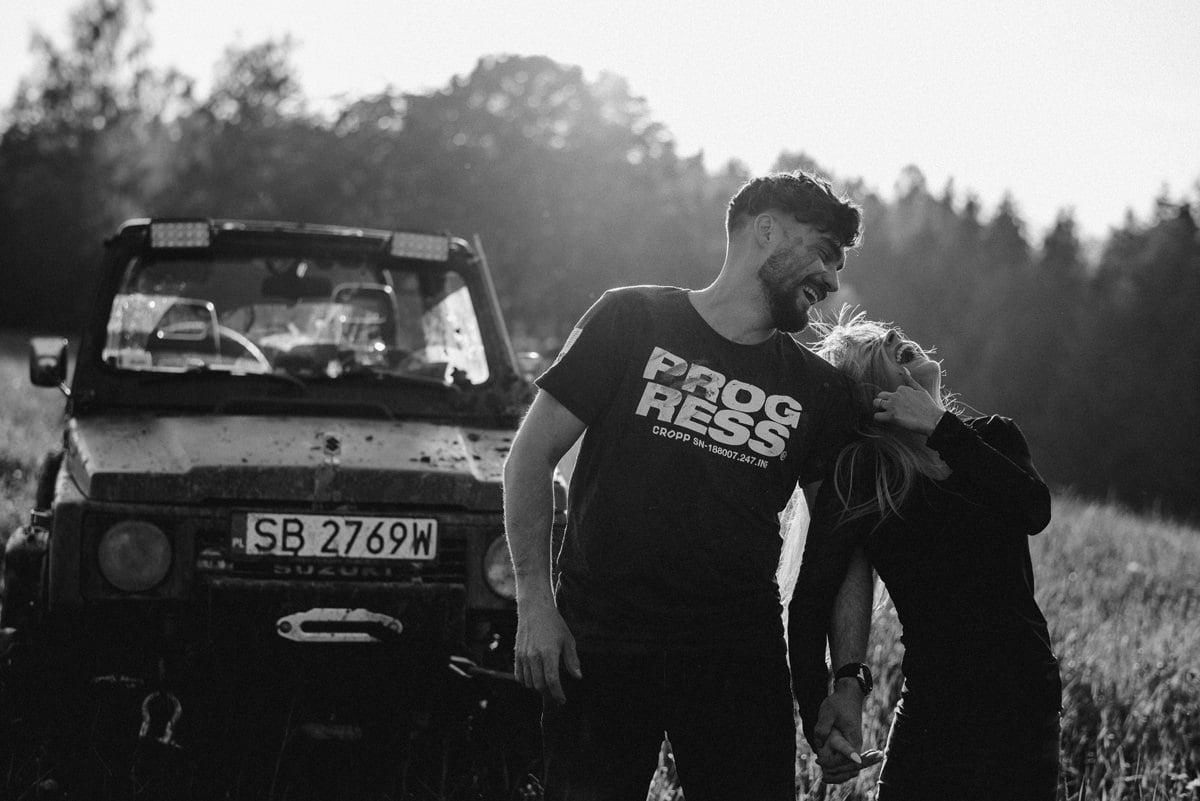 Offroadowa sesja narzeczeńska / Sabina & Marek 75