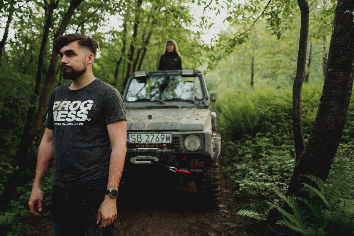 Offroadowa sesja narzeczeńska / Sabina & Marek 81
